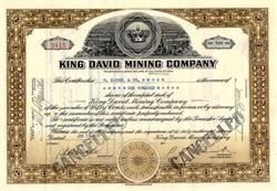 King David Mining Company - Beaver County, Utah 1937