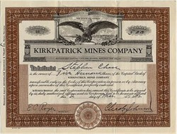Kirkpatrick Mines Company - Reno, Nevada 1942