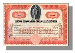 King Edward Silver Mines 1907