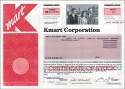 Kmart Corporation ( Now Sears Holdings Corporation)