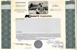 Kmart Corporation Unique Production File with Artwork - Michigan 1977