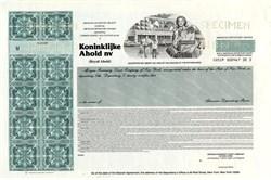 Koninklijke Ahold nv Specimen - Netherlands
