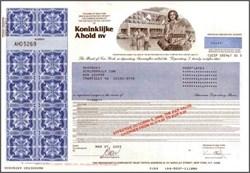 Ahold Supermarket Group - Dutch Scandal