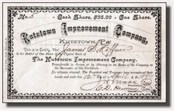 Kutztown Improvement Company - 1890's (Pennsylvania)