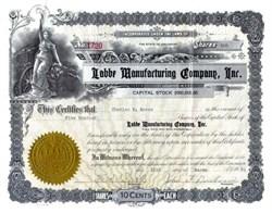 Labbe Manufacturing Company 1930's - Colorado