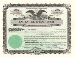 Lac La Belle Golf Club - Wisconsin 1992