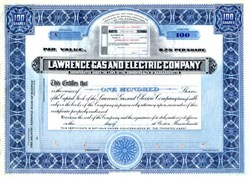 Lawrence Gas and Electric Company - Massachusetts