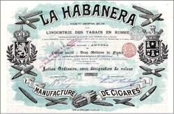 La Habanera  Cigars - 1899