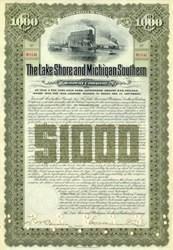 Lake Shore and Michigan Southern Railway Company Gold Bond 1903