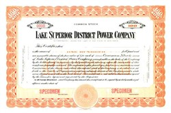 Lake Superior District Power Company - Wisconsin ( Now Northern States Power )