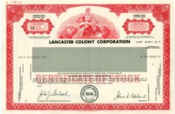 Lancaster Colony Corporation