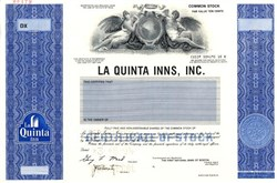 La Quinta Inns, Inc - Dallas, Texas ( Pre merger)