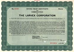 Larvex Corporation