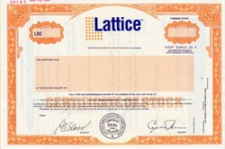 Lattice Semiconductor Corporation - Delaware