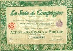 La Soie de Compiegne (Silk Company) 1927