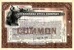 Lackawana Steel Company (Became Bethlehem Steel)  - New York 1912