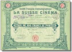 La Suisse Cinema - 1919