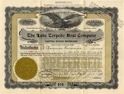 Lake Torpedo Boat Company - Bridgeport, Connecticut 1916