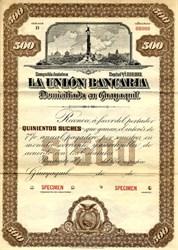 La Union Bancaria - Guayaquil, Ecuador