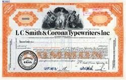 LC Smith & Corona Typewriters Inc.