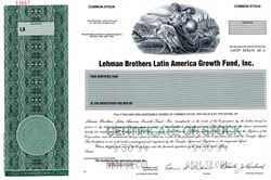 Lehman Brothers Latin America Growth Fund, Inc. - Massachusetts 1994