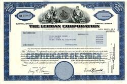 The Lehman Corporation  - Maryland 1989