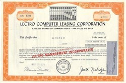 Lectro Computer Leasing Corporation - Abacus Vignette