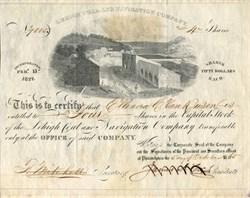Lehigh Coal and Navigation Company - 1865