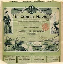 Le Combat Naval - Brussells, Belgium 1899