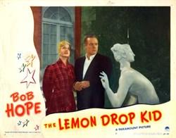 The Lemon Drop Kid Lobby Card Starring Bob Hope - 1951