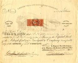 Lehigh Coal and Navigation Company - 1868