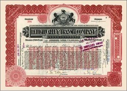 Lehigh Valley Transit Company 1914