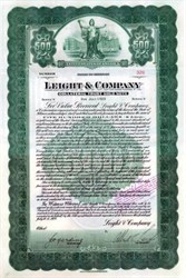 Leight & Company 1928 - Gold Note