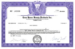 Lena Horne Beauty Products Inc.