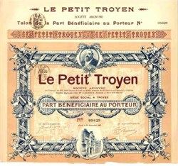 Le Petit Troyen 1907 (The Little Trojan)
