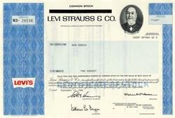 Levi Strauss & Company - Delaware 1986