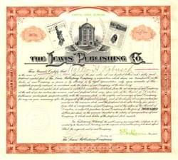 Lewis Publishing Company 1906