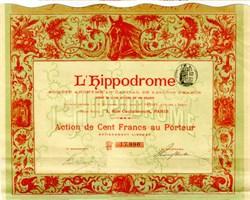 L'Hippodrome 1898