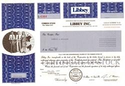 Libbey Inc. - Delaware 1997 ( Famous Glassware Company )