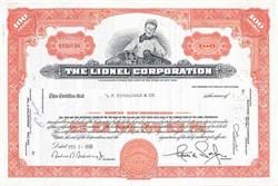 Lionel Corporation - New York
