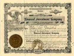 Linwood Investment Company - Missouri 1914