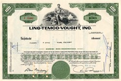 Ling-Temco-Vought, Inc. (LTV owned Chance Vought Aerospace ) - Delaware 1970