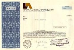 Lincoln American Corporation 1972 - 1980 (American General )