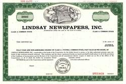 Lindsay Newspapers, Inc. ( Sarasota Herald-Tribune ) - Florida