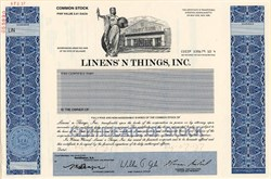 Linen's N Things, Inc. - Delaware