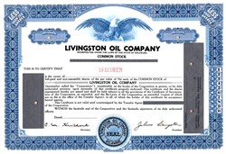 Livingston Oil Company - Delaware