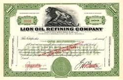 Lion Oil Refining Company - Delaware