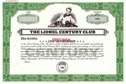 Lionel Century Club