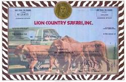 Lion Country Safari, Inc. - Uncancelled 1980