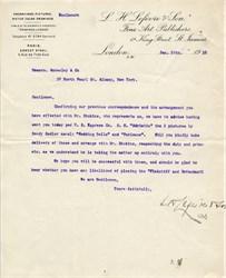 L.H. Lefevre & Son Fine Art Publishers -  London 1910